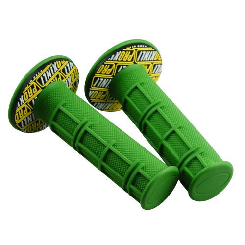 ハンドルグリップ オフロード用 グリーン 118mm
