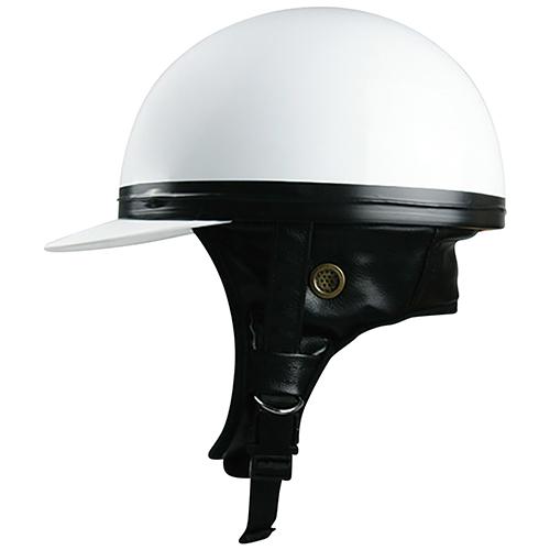 ハーフキャップ コルクヘルメット ホワイト