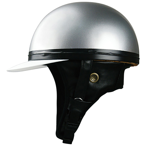 ハーフキャップ コルクヘルメット シルバー