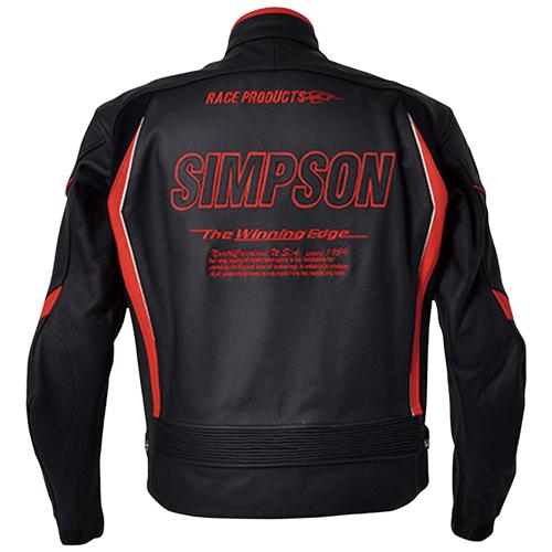 SIMPSON SLJ-4111 RD 3L レザージャケット