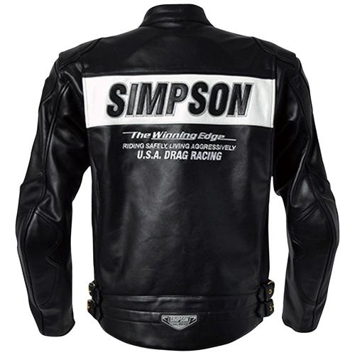 SIMPSON SLJ-4112 BK 3L レザージャケット