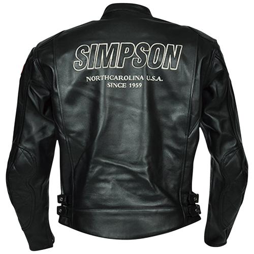SIMPSON SLJ-3111 BK M レザージャケット