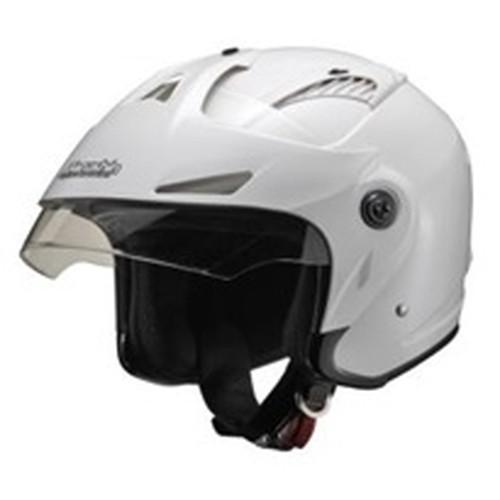 M-385 ツバ付ジェットヘルメット マットブラック フリーサイズ