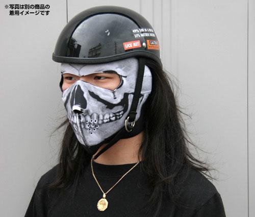 フェイスマスク ブラック/フルフェイスタイプ