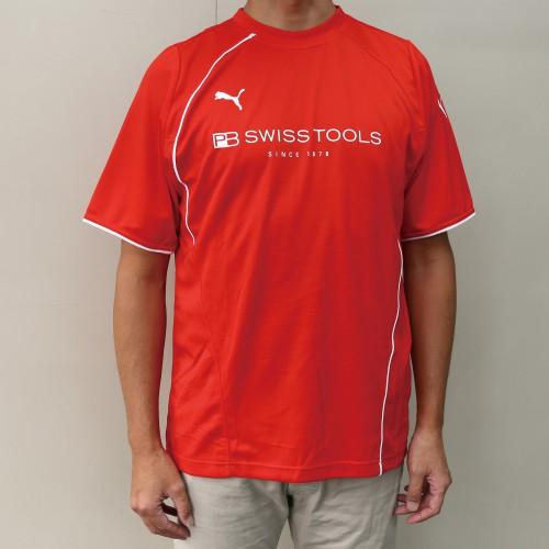 2751L PBスイスツール プーマTシャツ L レッド