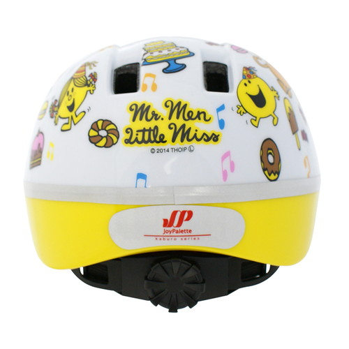 幼児用ヘルメット カブロV ミスターメン リトルミス ホワイト
