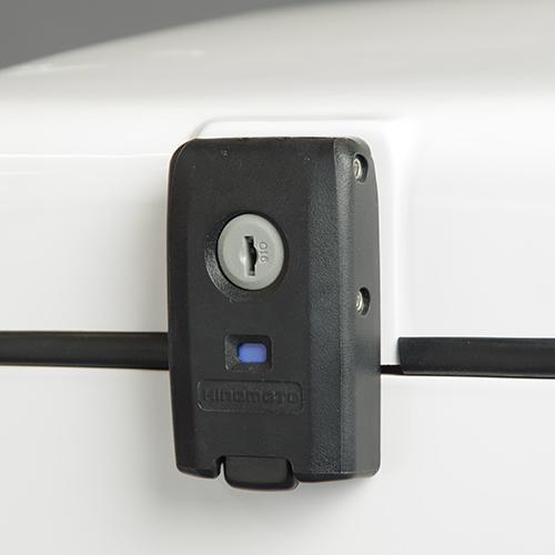 エキスプレスB BOX ブラック 標準仕様(鍵番号共通タイプ)