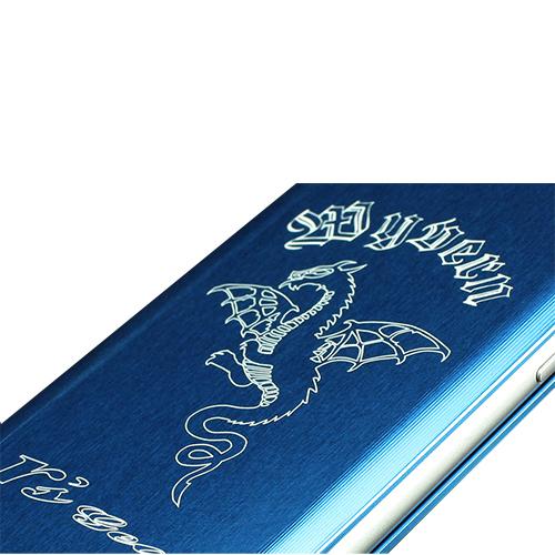 ワイバンスマートフォンケース iPhone7 Plus用 ブルー