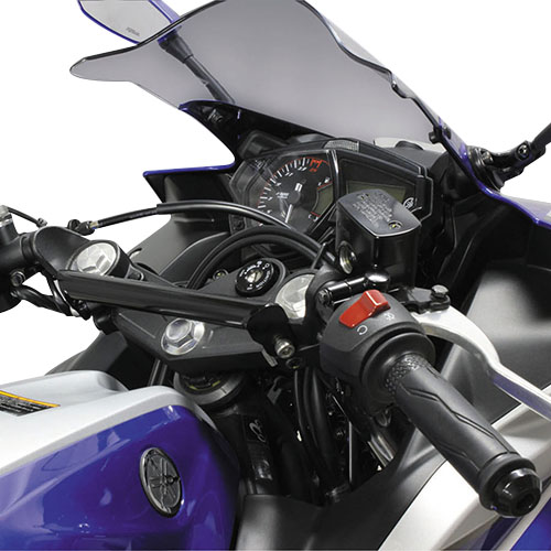 ハンドルマウントステー ブラック YZF-R25