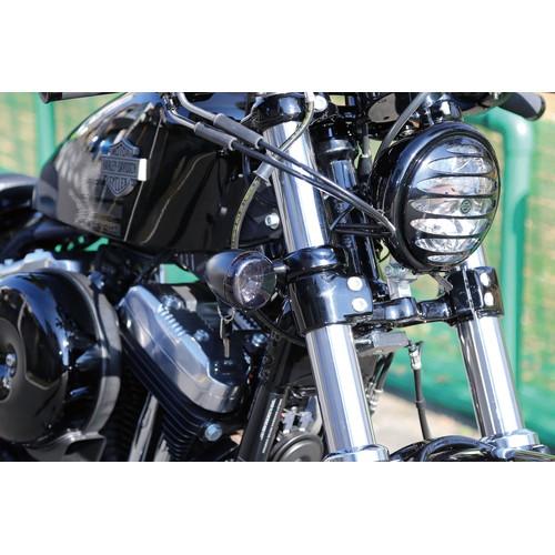 ビレットフロントウインカーステー/フォーククランプ 16yXL1200X