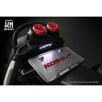 KOSO LEDテールアッセン タイプ2 レッド/ホワイト