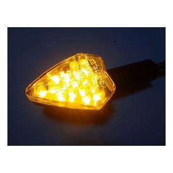汎用LED タイプA ロング [STARTECH] クリアレンズ/ブラックボディー