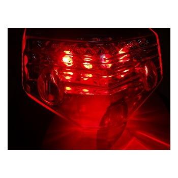 汎用LEDテール [STARTECH] クリアーレンズ [ウインカー付] B00904-C