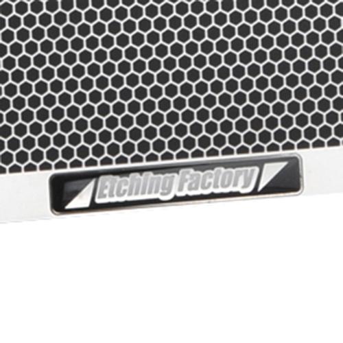 GSX1300R(99〜07)用 ラジエター&オイルクーラーガードSET エンブレムカラー:ブラック