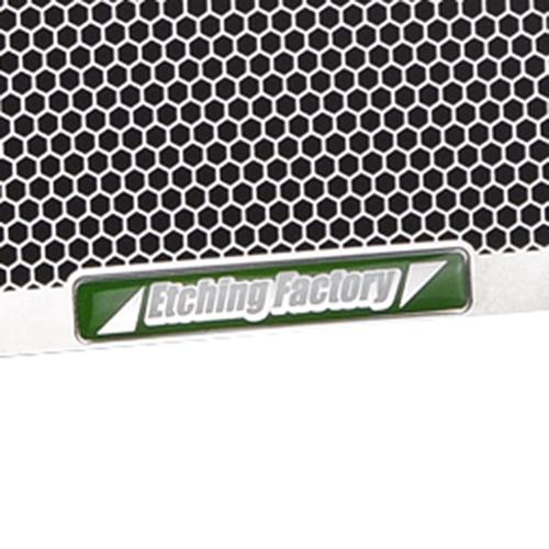 GSX-R1000(05〜06)用 ラジエター&オイルクーラーガードSET エンブレムカラー:グリーン