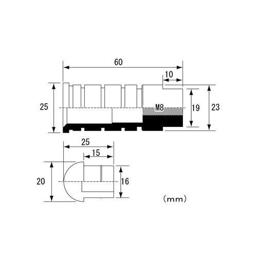 ステップバー(BK/23&60MM/M8)