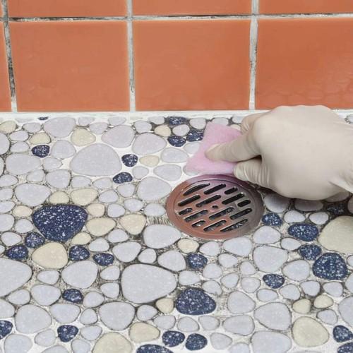 タイル目地黄ばみ・汚れ取り めじ洗い