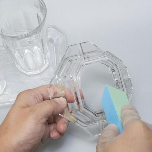 水垢・カルキ汚れ取り ガラス用メッシュパッド