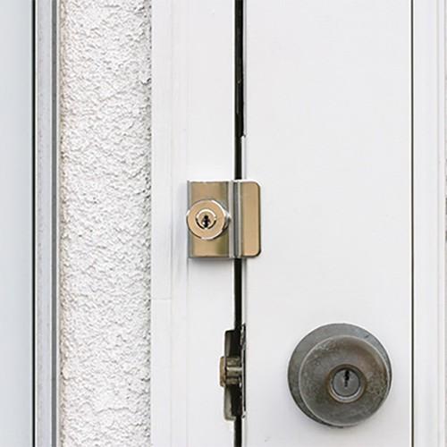 防犯強化ロック ドア用 モヒトツロック