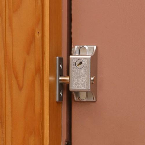防犯強化ロック 勝手口・個室用 インサイドロック DS-1N-1U