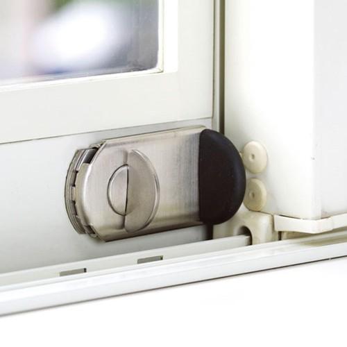 防犯強化ロック 窓用 ファスナーロック FN467