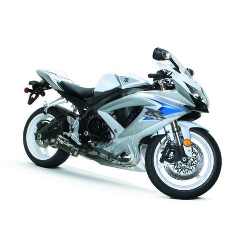 【受注生産品】GSX-R600/750(08-10) フルエキゾースト/M2 アルミサイレンサー ブラックシリーズ