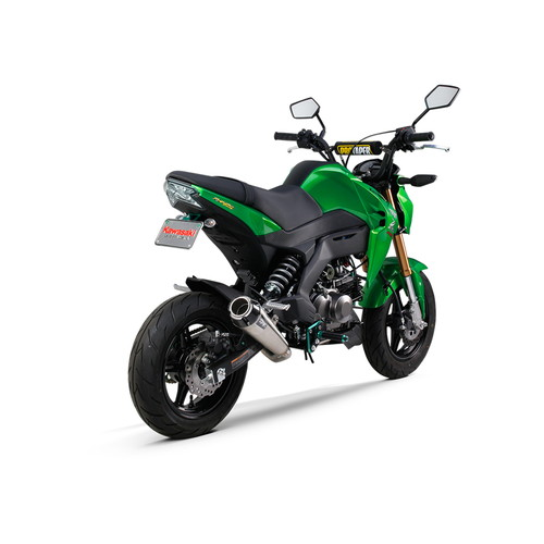 【受注生産品】Z125(16) フルエキゾースト/Comp-S ステンレス/カーボンエンド