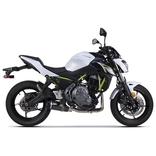 【受注生産品】Z650(17) フルエキゾースト/S1R カーボンサイレンサー