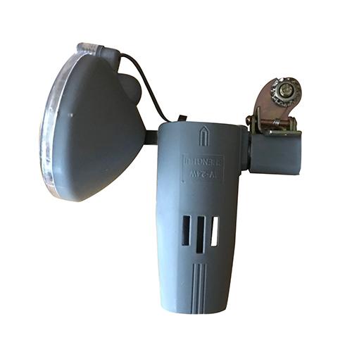 LEDヘッドランプユニット 丸 グレー