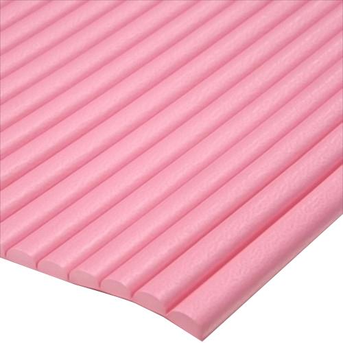 波型クッション ピンク