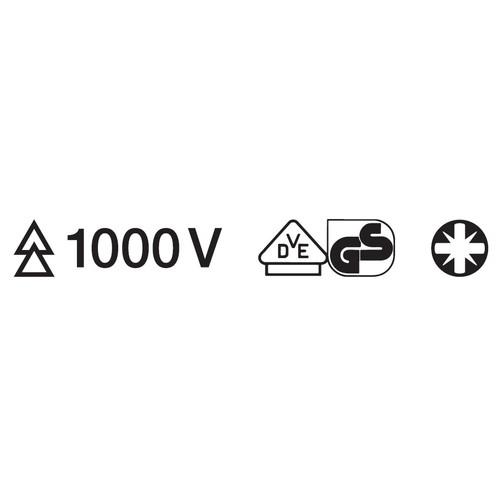 スリムポジ 絶縁ドライバー 1000V