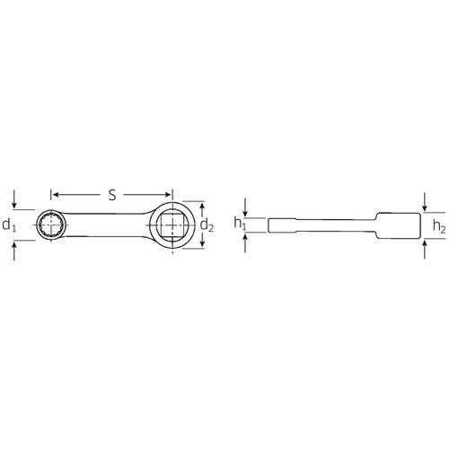 (3/8SQ)トルクレンチ用アダプター 447A-1/4