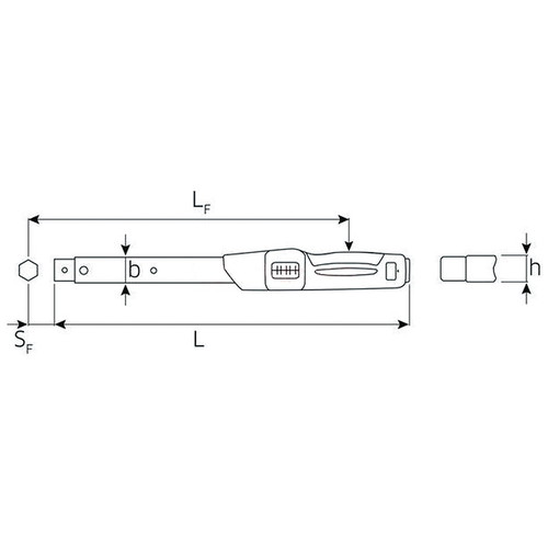 トルクレンチセット (25-130Nm)