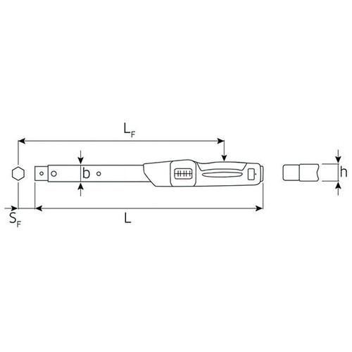 トルクレンチセット (40-200Nm)