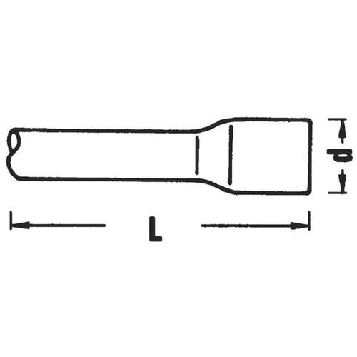 (3/4SQ)エキステンションバー(#560)