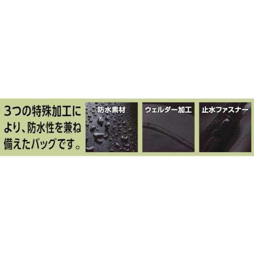 防水ターポリンドライバッグ ブラック