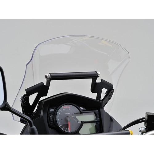 スクリーンマウントバーホルダー V-STROM650用