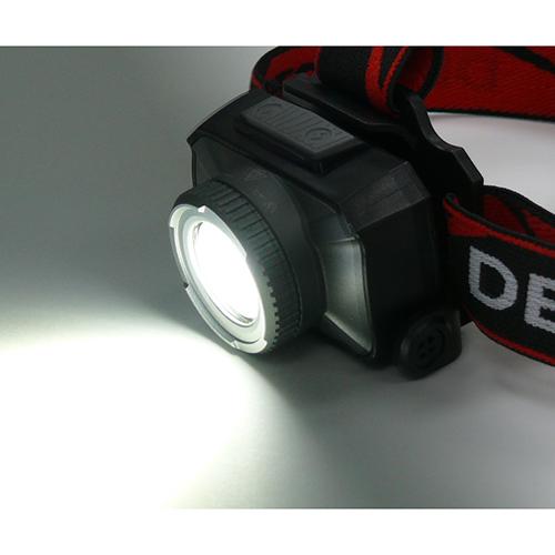 充電ヘッドライト