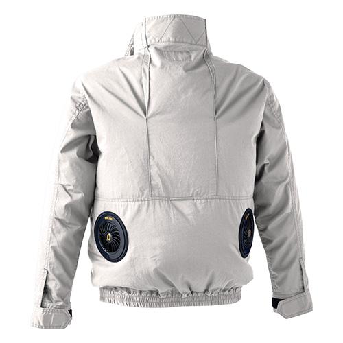 WZ ワンウォッシュコットン ジャケット アッシュグレ− XL