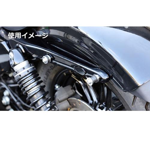 ウインカーホールカバー サテンシルバー スポーツスター(14Y-) ソフテイル(18Y-)