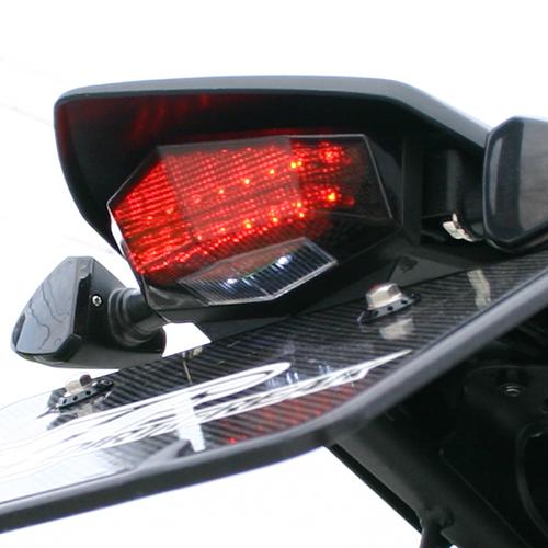 モトレッド EDGE LEDテールライト レッド