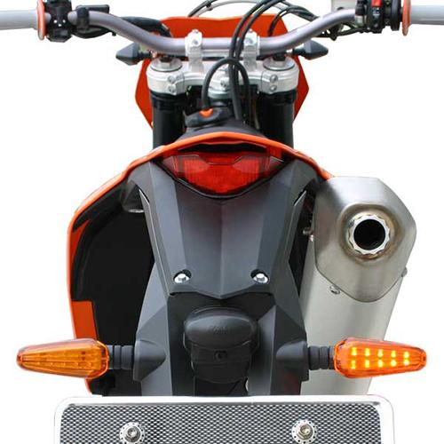 モトレッド Type-602 LEDフラッシャー オレンジ