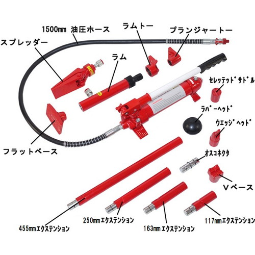 ロングラムジャッキ4トン TR-057PP