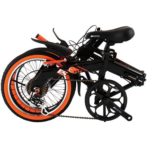 【直送】104 ブラックバレットII 16インチ ブラック×オレンジ