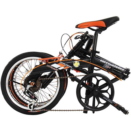 【直送】111 ロードフライ 16インチ ブラック×オレンジ