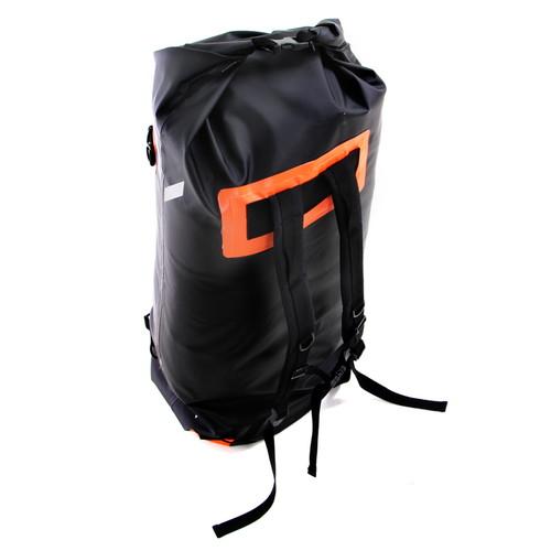 DBT217-BK デュアルストレージツーリングバッグ ブラック×オレンジ