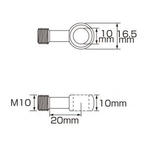 スーパーテフロン ステンメッシュブレーキホース 773-0010100