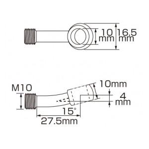 スーパーテフロン ステンメッシュブレーキホース 773-0412100