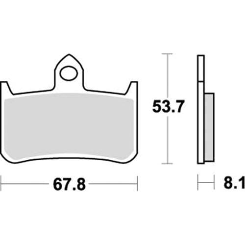 SBS スプリントレース専用ブレーキパッド 777-0622088