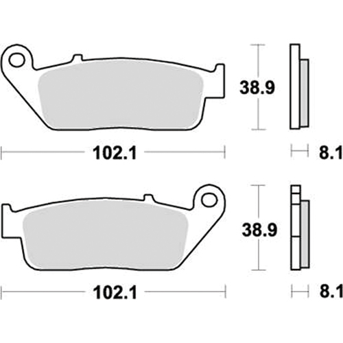 SBS 耐久ロードレース用ブレーキパッド 777-0627081
